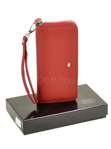 d35a4cb085e2 Кожаный кошелек-клатч модель W38 red - купить в магазине LookLike