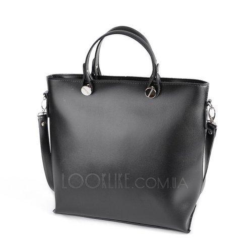 6813d1e70a50 Женская деловая сумка модель М61-33 черная - купить в магазине LookLike