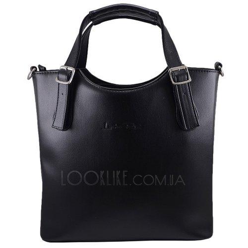 1c67a6195878a7 Жіноча ділова сумка модель 334 чорна - купити в магазині LookLike