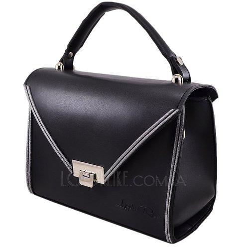 7f31dbb22d71 Сумка-чемоданчик модель 578 черная с серебром - купить в магазине ...