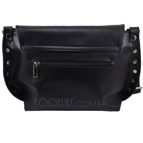 Сумка через плече модель 477 колір чорний - купити в магазині LookLike 0ffba7b737b10