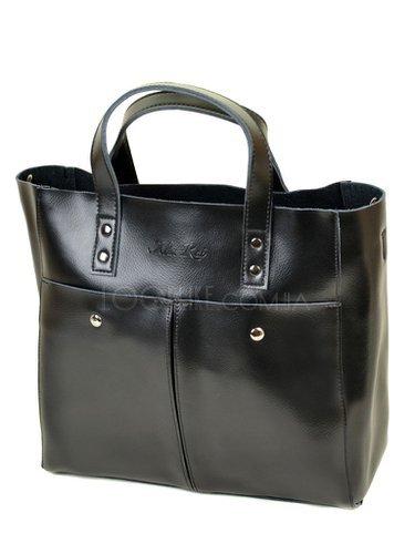 0204f238dae17b Жіноча сумка тоут Alex Rai 10-04 8713 black - купити в магазині LookLike