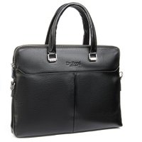 Мужской портфель для документов DR. BOND 152-3 black